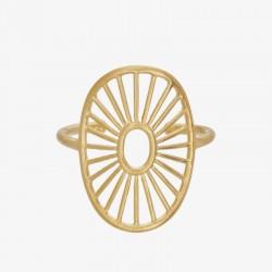 Pernille Corydon | Daylight Ring | Forgyldt-20