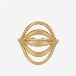 Pernille Corydon | Tidal Ring | Forgyldt-20