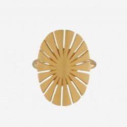 Pernille Corydon | Flare Ring | Forgyldt-20