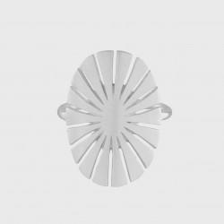 Pernille Corydon | Flare Ring | Sølv-20