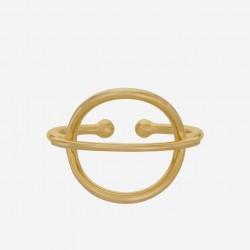 Pernille Corydon | Horizon Ring | Forgyldt-20
