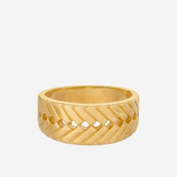 Pernille Corydon | Genéve Ring | Forgyldt-20