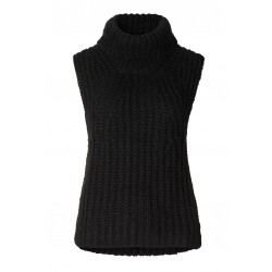 Second Female | Ivory knit vest |-20