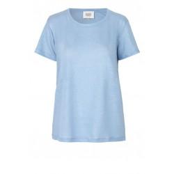 Second Female | Peony T-shirt I Blå-20