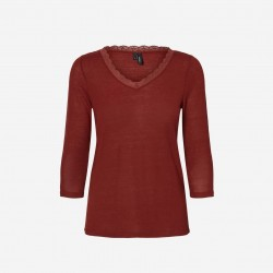 Vero Moda | Honey Bluse | Rust-20