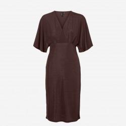 Vero Moda | Doreen Kjole | Brun-20