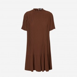 Vero Moda | Cicely Kjole | Brun-20