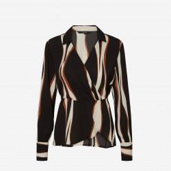 Vero Moda | Fidela Wrap Bluse-20