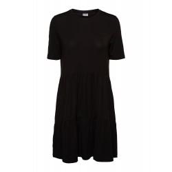 Vero Moda | Ava Peplum T-shirt Kjole | Sort-20