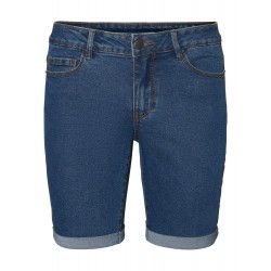 Vero Moda | Hot Seven Shorts | Mørk Denim-20
