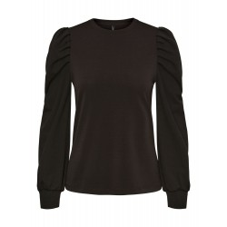 Vero Moda I Lenore Puff top I Sort-20