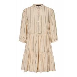 Vero Moda | Ovida Kjole | Offwhite-20