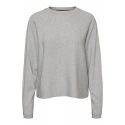 Vero Moda   Sanna Bluse   Lysegrå-20