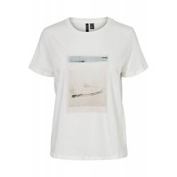 Vero Moda I Selma Francis T-shirt I Beach-20