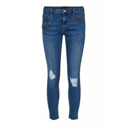 Vero Moda | Seven Zip Pants | Blå-20