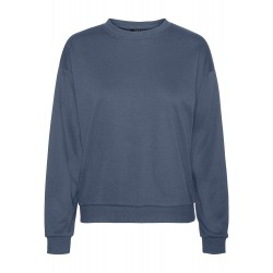 Vero Moda | Natalia Oversized Sweat | Blå-20