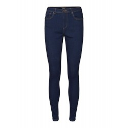 Vero Moda | Tanya Piping Jeans | Mørkeblå-20