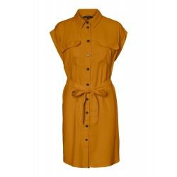 Vero Moda I Venus Wide Kjole I Brun-20
