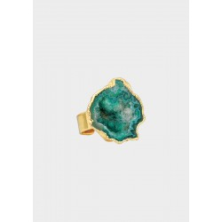 House of Vincent I asger ring dioptase no.04 I Forgyldt-20