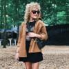 Vero Moda | Cairo Skjorte Jakke | Brun-01