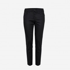 Pulz | Rosita pant | Sort Coated