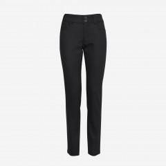 Pulz | Haya Skinny Jeans Curved | Sort Coated
