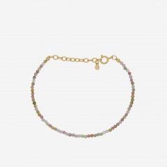 Pernille Corydon | Light Rainbow Bracelet | Forgyldt