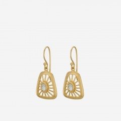 Pernille Corydon | Thilde Earrings | Forgyldt