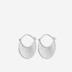 Pernille Corydon | Daylight Øreringe | Sølv