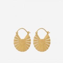 Pernille Corydon | Flare Earrings | Forgyldt