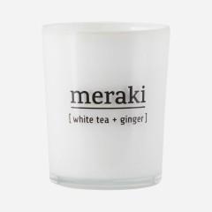 Meraki | Duftlys | White Tea / Ginger