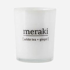 Meraki | Duftlys | White Tea / Ginger