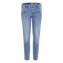 Pulz   Melina Loose Jeans   Light Blue Denim