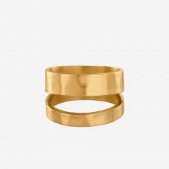 Pernille Corydon   Avenue Ring   Forgyldt