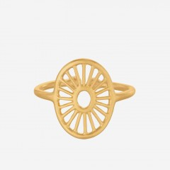Pernille Corydon | Small Daylight Ring | Forgyldt
