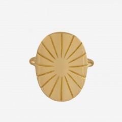 Pernille Corydon | Copenhagen Ring | Forgyldt