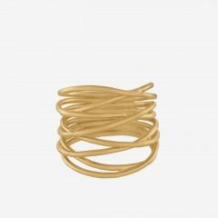 Pernille Corydon   Paris Ring   Forgyldt