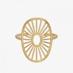 Pernille Corydon | Daylight Ring | Forgyldt