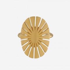Pernille Corydon | Flare Ring | Forgyldt