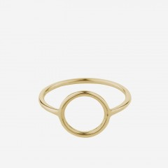 Pernille Corydon | Halo Ring | Forgyldt