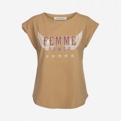 Sofie Schnoor   Nikoline T-shirt   Camel
